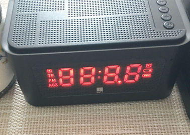 China Mini Desktop Portable Bluetooth Speaker Alarm Clock Wireless LED Display distributor
